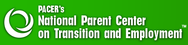 Logo for PACER's National Parent Center on Transition and Employment