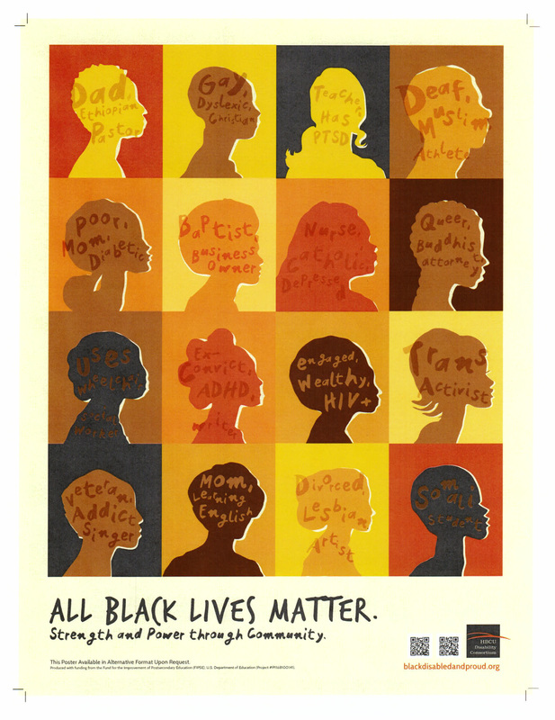Picture of All Black Lives Poster