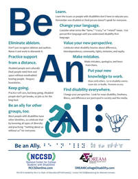 Thumbnail Picture of Be An Ally poster