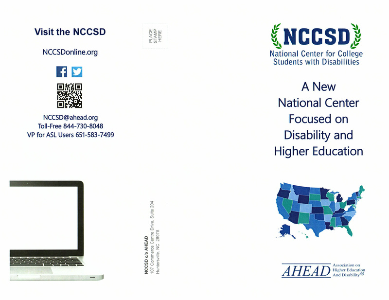 Original NCCSD Brochure