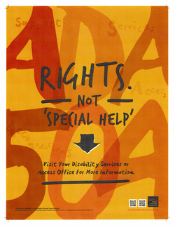 Picture of Not Special Help Poster